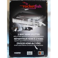 Rocketfish RF-G1182 2-Way HDMI Splitter
