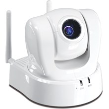 TRENDnet TV-IP612WN ProView Wireless N Pan/Tilt/Zoom Internet Surveillance Camera (White)
