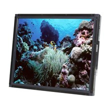 """Elo TouchSystems TOUCH 1937L Steel/black 19"""" Dual serial/USB Intelli Open-Frame monitor"""