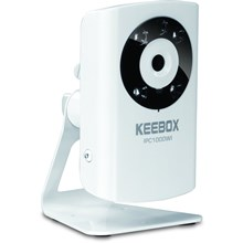 KEEBOX IPC1000WI Surveillance/Network Camera - Color - CMOS - Wired, Wireless - Wi-Fi - Fast Ethernet