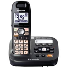 Panasonic KX-TG6591T DECT 60 Plus Expandable Cordless Phone with Digital Answering System