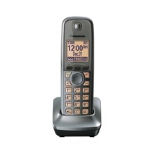 Panasonic KX-TGA410M DECT 60 Cordless Expansion Handset for Select Expandable Phone Systems - Gun Metal