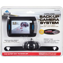 """Peak 074804015737 Wireless Back-Up Camera System with 3.5"""" LCD Color Monitor"""