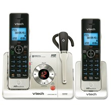 VTECH LS6475-3 V-Tech DECT 6.0 2 Handsets with DECT 6.0 Headset