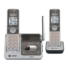 AT&T CL82201 DECT 6.0 2 Handset Cordless Phone