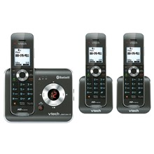 VTECH DS6421-3 DECT 60 Expandable Cordless Phone System with Digital Answering System