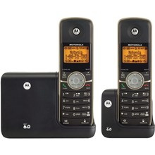Motorola MOTO-L513BT DECT 6.0 Cordless Phone with 3 Handsets, Digital Answering System and Bluetooth
