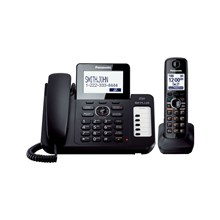 Panasonic KX-TG6671B DECT 60 Plus Expandable Cordless Phone System with Digital Answering System