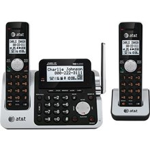AT&T ATTCL83201 1.9 GHz Digital DECT 6.0 2X Handsets Cordless Phones with Dual Caller ID