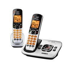 Uniden D1780-2 DECT 60 Expandable Cordless Phone with Digital Answering System