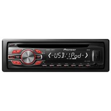 Pioneer DEH-2400UB 50W x 4 MOSFET Apple iPod-Ready In-Dash CD Deck with MP3 Playback