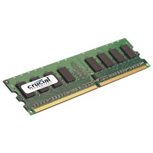 Micron CT2CP25664AA800 Crucial 4GB 2GBx2 240-pin DIMM DDR2 PC2-6400 Memory Kit