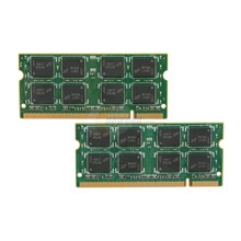 Micron CT2KIT25664AC800 Crucial 4GB (2 x 2GB)DIMM, DDR2, Laptop Memory