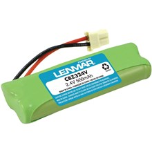 Lenmar CBZ324V Nickel-Metal Hydride Battery for Select VTech Cordless Phones