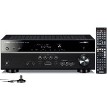 Yamaha Corp. of Americ RX-V575BL 805W 72-Ch A/V Home Theater Receiver