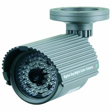 Clover HDC-518 Day/Night Weather-Proof Color CCD Camera with IR LEDs
