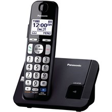 Panasonic KX-TGE210B Amplified Expandable Digital Cordless Answering System with 1 Handset