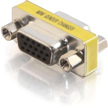 Cables To Go 18962 Compact/Slimline VGA Video Coupler Gender Changer F/F