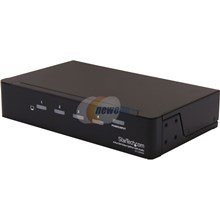 StarTech.com 4-Port DVI Splitter with Audio and Signal Booster, Single Link 1920x1200 at 60Hz / 1080p DVI F/4xF (ST124DVIA)