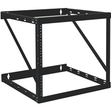 Tripp Lite SmartRack 12U Heavy-Duty Flat-Pack Low-Profile Switch-Depth Wall-Mount 2-Post Open Frame Rack (SRWO12UHD)