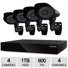 CWD 21108 Defender CONNECTED™ 4CH Smart Security DVR