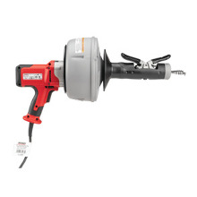 "RIDGID K-45 AF Machine with: - C-1lC, 5/16"" x 25' Inner Core Cable w/Inner Drum - C-6, 3/8"" x 35' Cable w/Inner Drum - T-250, Five -Piece Tool Set for 3/8"" Cable - C-6429 Carrying Case"