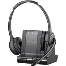 Plantronics Savi 700 Series Headset Over-the-head, binaural (Standard)