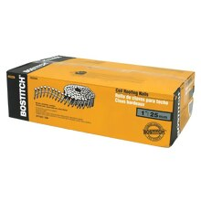 """Bostitch CR2DGAL 7,200-Qty. 1""""Smooth Shank 15 degree Coil Roofing Nails"""