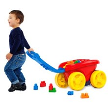 Fisher-Price Mega Bloks First Builders Block Scooping Wagon