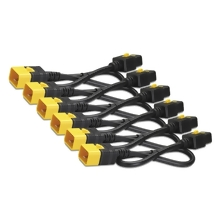 APC Power Cord Kit (6 ea), Locking, C19 to C20, 0.6m