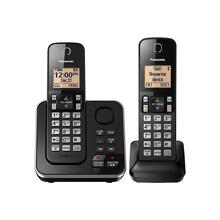 Panasonic Expandable Cordless Phone with Answering System - 2 Handsets - KX-TGC362B