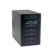 Ily DM-ACS525(B) BK Black 1 to 5 CD Duplicator Spartan Series With Sony Drive,Master Error Proof,Password protection,Counter Model