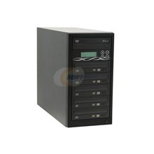Ily DM-ILY-ADS165HU(B)BK Black 1 to 5 DVD Duplicator Spartan Series W/ SONY 16X Burner + 80GB + USB port Model DM--ADS165HU(B)BK