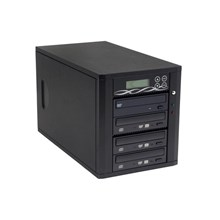 Ily DM-ILY-ADS1803HUBK Black 1 to 3 DVD Duplicator with Sony Q170 Drives and 80GB HDD & USB port Model DM--ADS1803HUBK