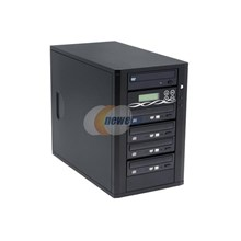 Ily DM-ILY-ADS1804HUBK Black 1 to 4 DVD Duplicator with Sony Q170 Drives and 80GB HDD & USB port Model DM--ADS1804HUBK