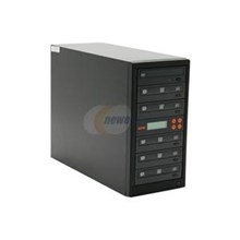 SySTOR Systems SYSLT105D Black 1 to 5 DVD Duplicator DVD Duplicator with USB 2.0 Model
