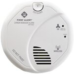 Wireless Interconnected Carbon Monoxide Alarm with Voice and Location