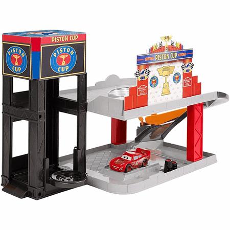 Disneypixar Cars Piston Cup Racing Garage Dwb90 Mattel Shop
