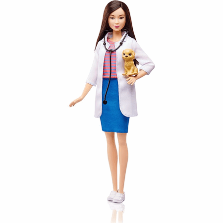 Barbie Pet Vet Career Doll With Puppy Patient Dvf58 Barbie