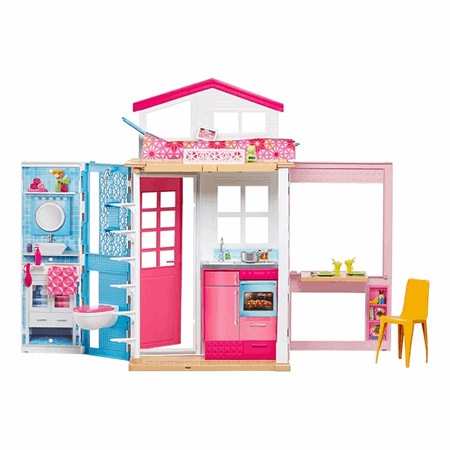 Enjoyable Barbie 2 Story House Download Free Architecture Designs Rallybritishbridgeorg