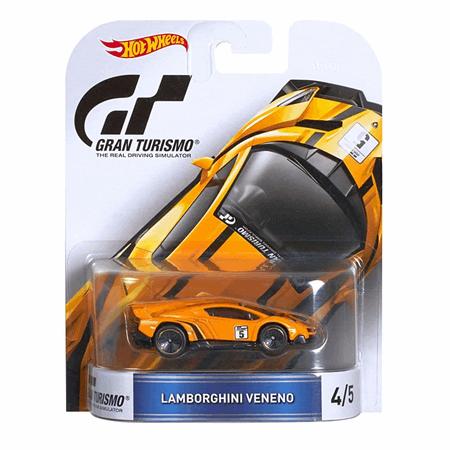 Hot Wheels Lamborghini Veneno Car Gran Turismo Djf58 Hot Wheels