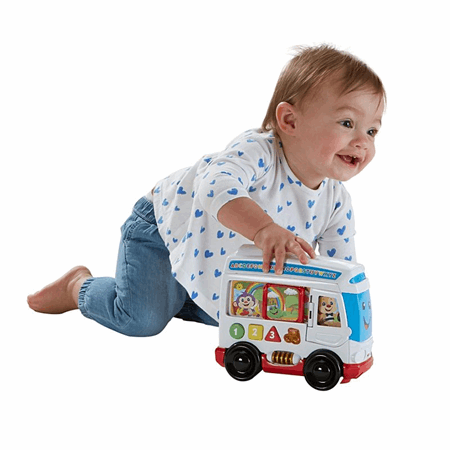 Laugh Learn Learn Around Town Bus Dym77 Fisher Price