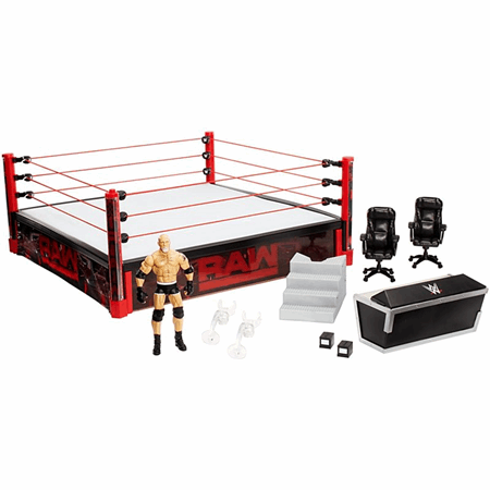 Wwe Raw Main Event Ring Dxg60 Mattel Shop