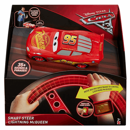 Disney Pixar Cars 3 Smart Steer Lightning Mcqueen Fcx96 Mattel Shop