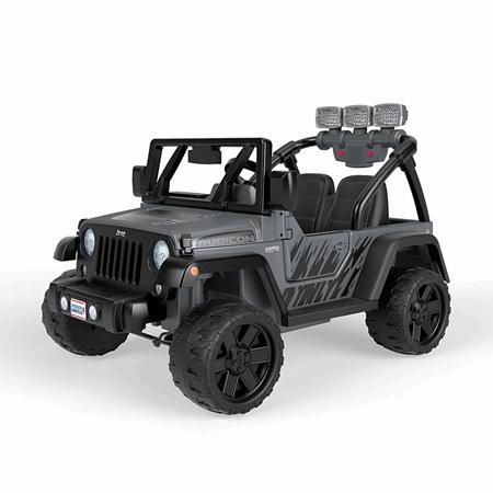 Power Wheels Jeep Wrangler Rubicon Recon Fnk92 Fisher Price