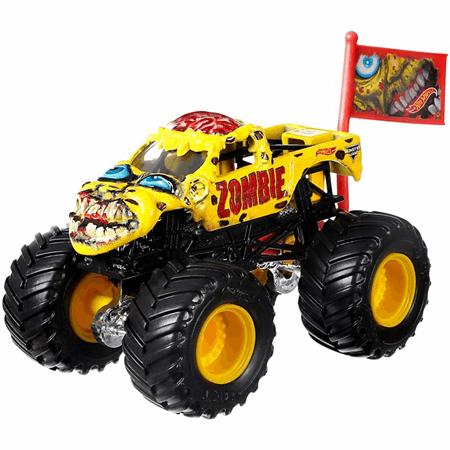 Hot Wheels Monster Jam Zombie Vehicle Dwl99 Hot Wheels