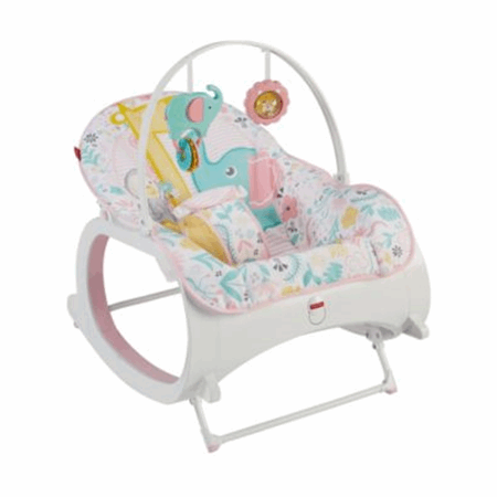 Infant To Toddler Rocker Tiny Tea Time Fisher Price