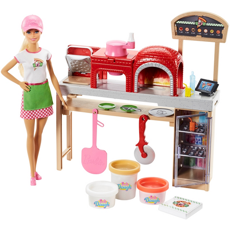 Barbie Pizza Chef Doll And Playset Fhr09 Barbie