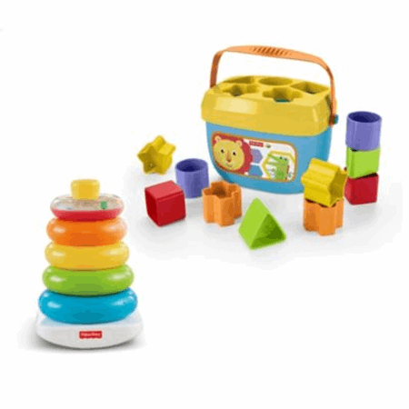 Rock A Stack And Baby S First Blocks Bundle Fwp37 Fisher Price