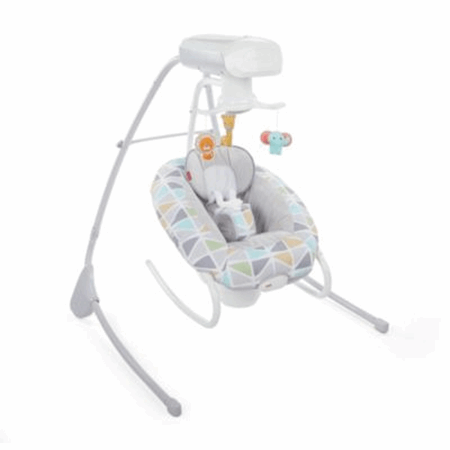 2 In 1 Deluxe Cradle N Swing Slanted Sails Fisher Price